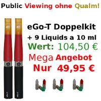 e-Zigarette eGo-T Duo Deutschland