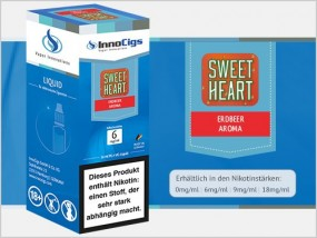 e-Liquid Sweetheart Erdbeer