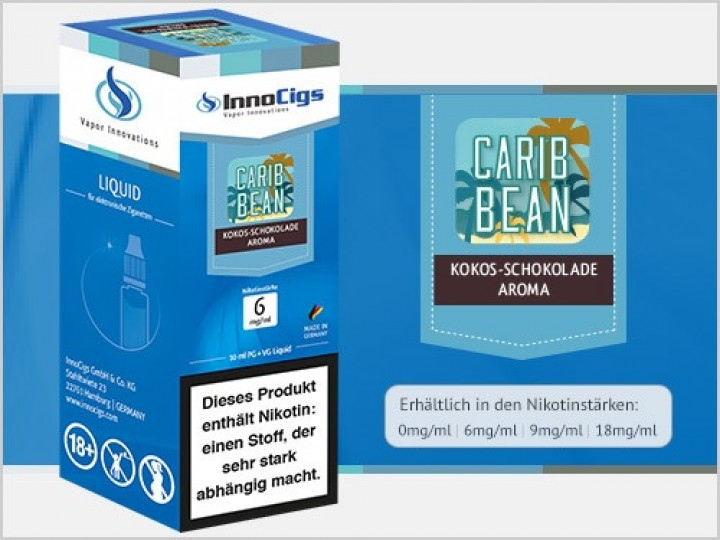 e-Liquid Carib Bean Schokolade-Kokos