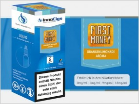 e-Liquid Orangenlimonade First Money