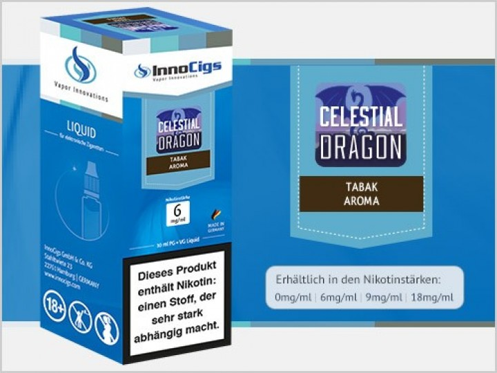 e-Liquid Celestial Dragon Tabak