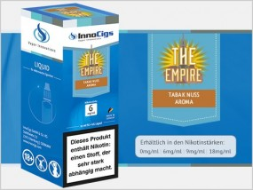 e-Liquid The Empire Tabak Nuss