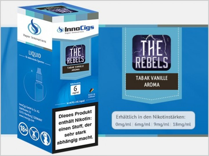 e-Liquid The Rebels Tabak Vanille