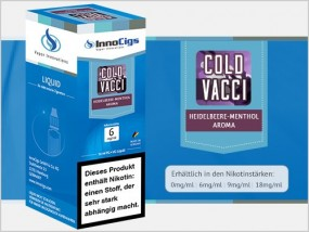 e-Liquid Cold Vacci Heidelbeere