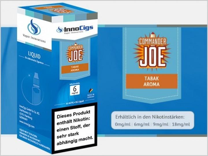 e-Liquid Commander Joe Tabak