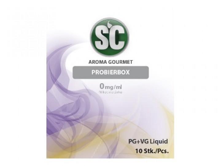 e-Liquid SC Gourmetprobierbox