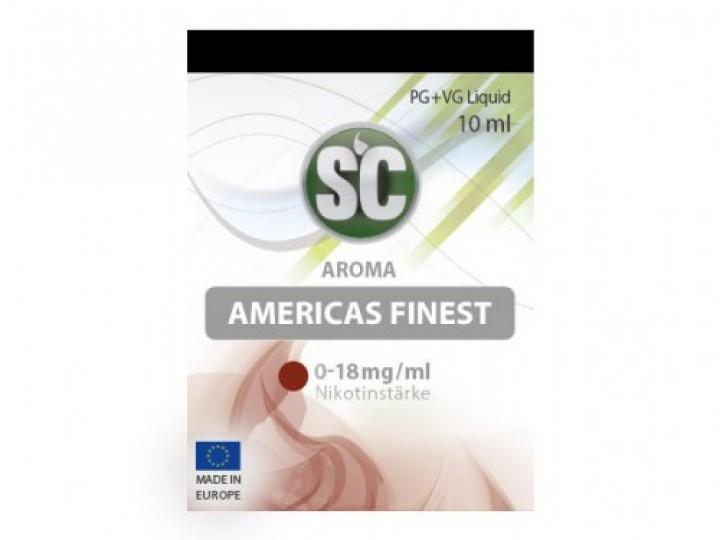 e-Liquid Americas Finest Tabak