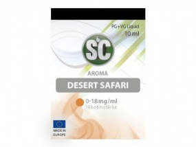 e-Liquid Desert Safari Tabak