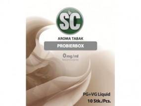 e-Liquid SC Tabakprobierbox