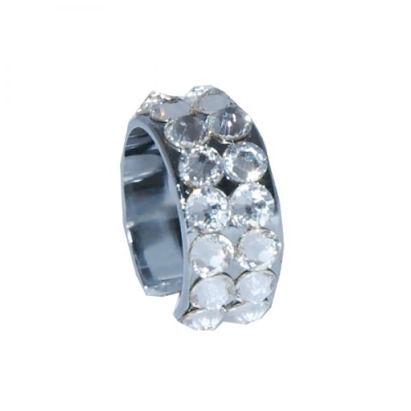 Kristall-Ring für Akku